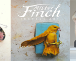 "Mr Finch  ~  ""Textile artist who lives in a fairytale world"""